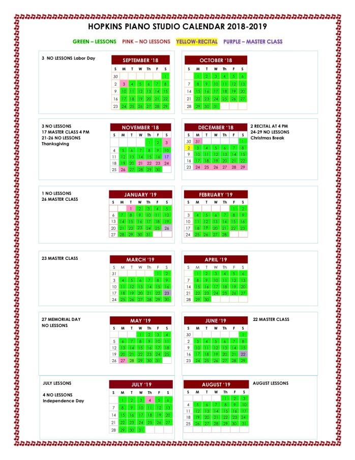 HPS-Calendar